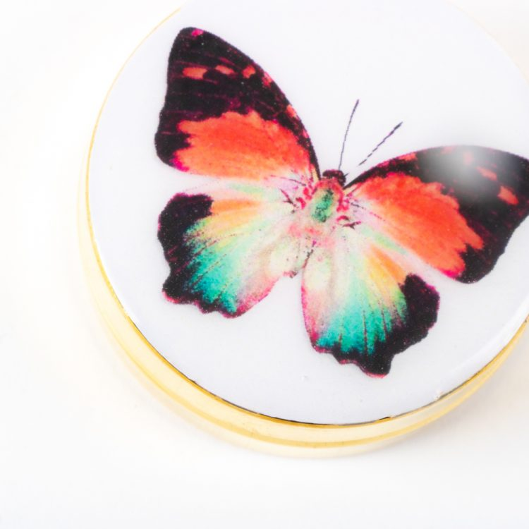 Butterfly metal pill box | Gallery 2 | TradeAid