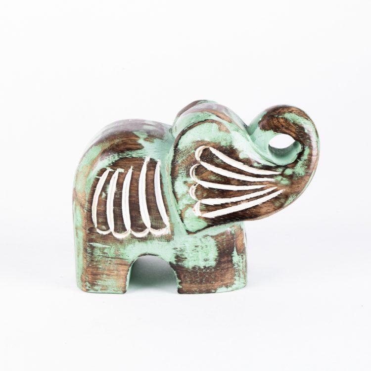 Mangowood elephant statue | TradeAid