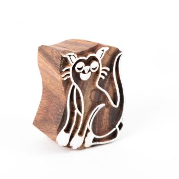 Cat printing block | TradeAid