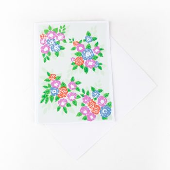 Bunches of flowers card | TradeAid