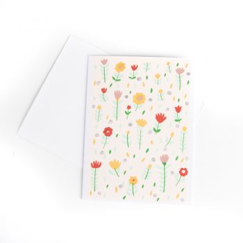 Flower garden card | TradeAid