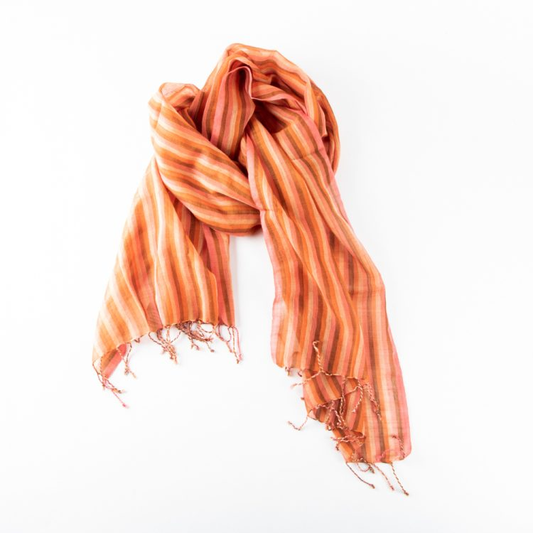 Autumnal wool scarf | TradeAid
