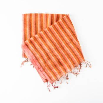 Autumnal wool scarf | Gallery 1 | TradeAid