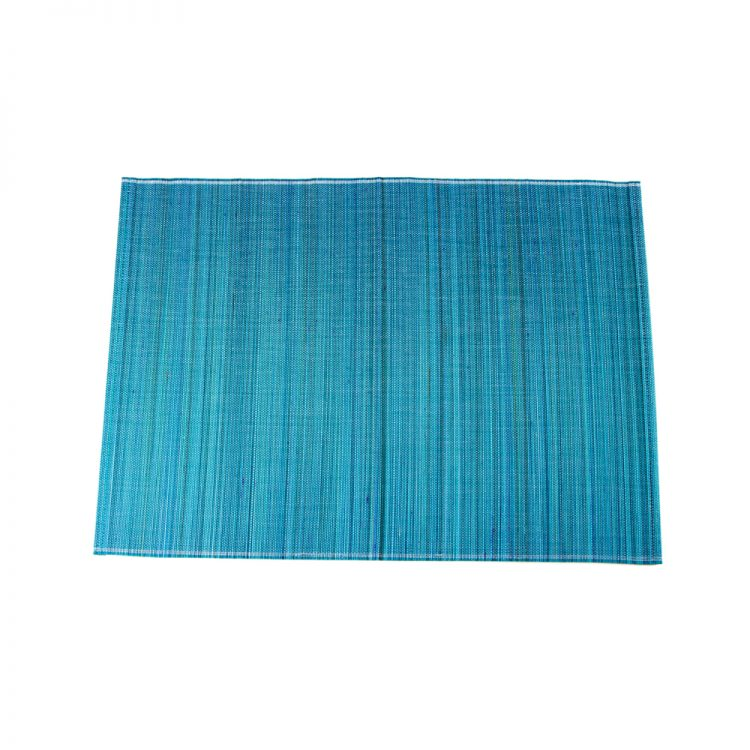 Blue bamboo placemat | TradeAid