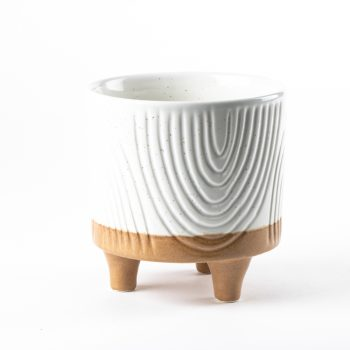 White foot ceramic planter   Gallery 1   TradeAid