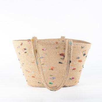 Jute and sari shopper | Gallery 1 | TradeAid