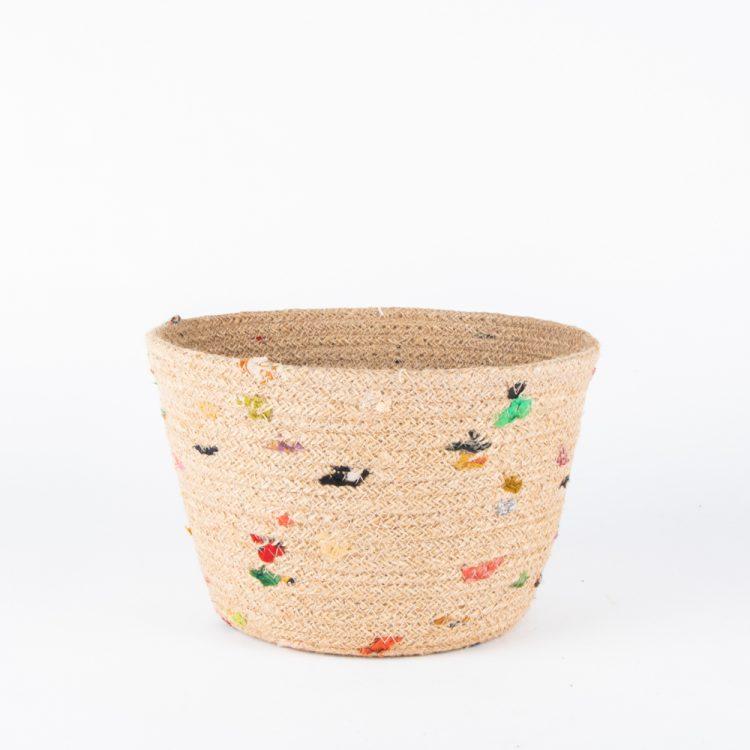 Jute recycled sari bowl | TradeAid