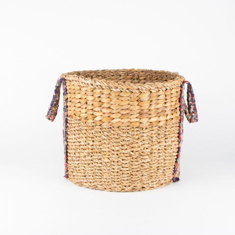 Hogla rope and leaf basket | TradeAid