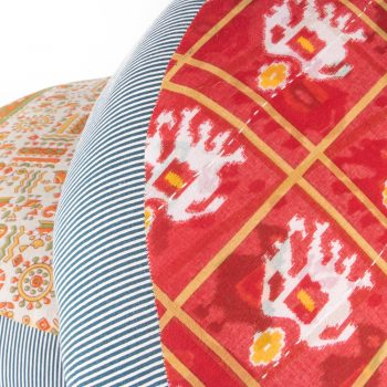 Recycled sari pouffe | Gallery 1 | TradeAid