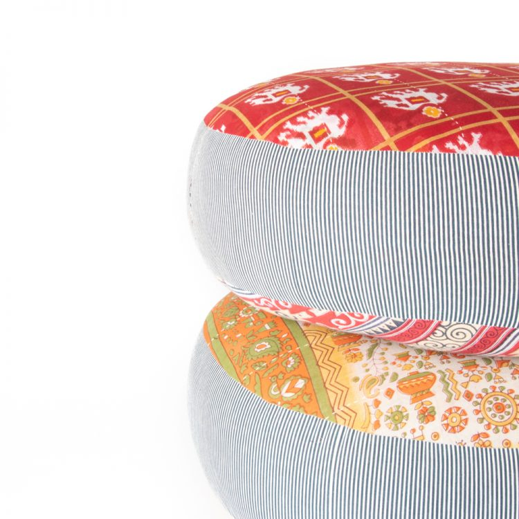 Recycled sari pouffe | Gallery 2 | TradeAid