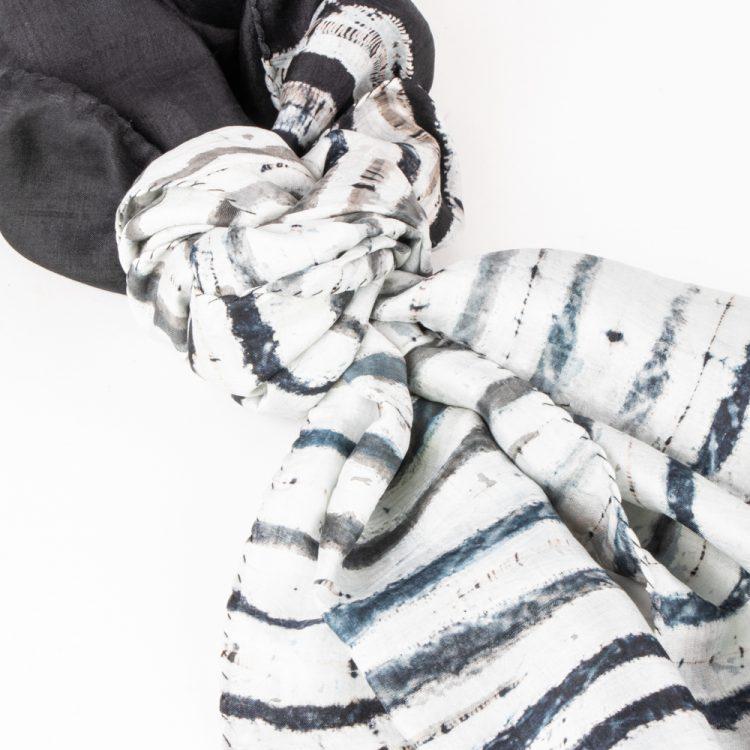 Shibori silk scarf | Gallery 2 | TradeAid