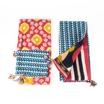 Sari reversible throw | TradeAid