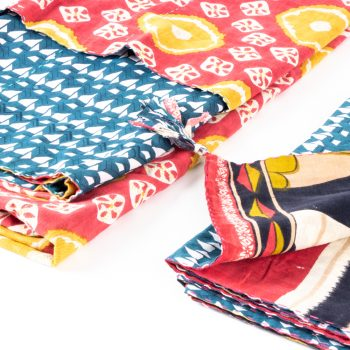 Sari reversible throw | Gallery 1 | TradeAid