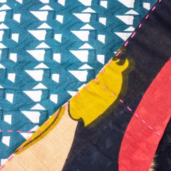 Sari reversible throw | Gallery 2 | TradeAid