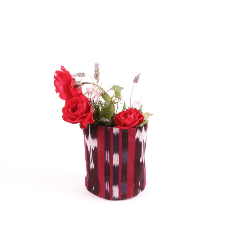Tall red cotton planter | TradeAid