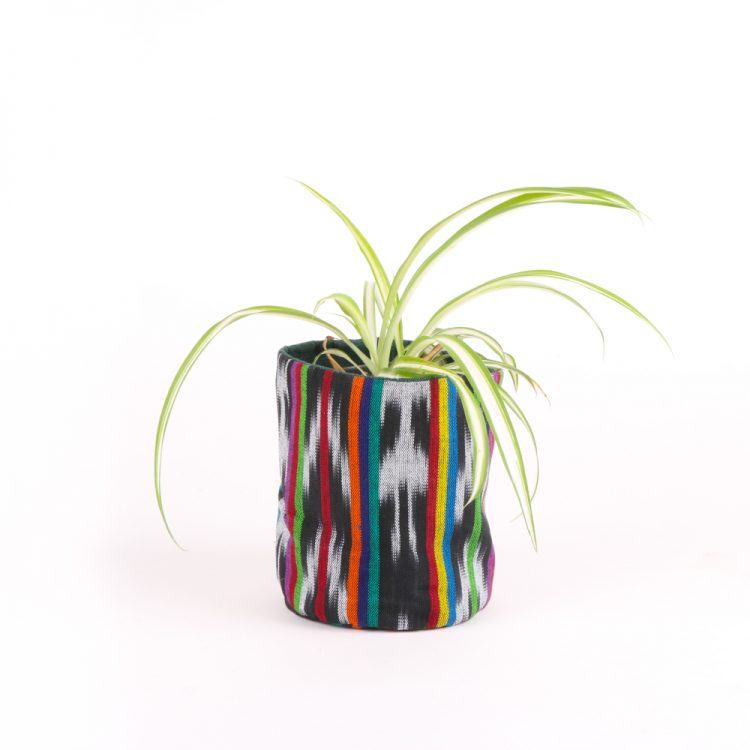 Tall green cotton planter bag | TradeAid