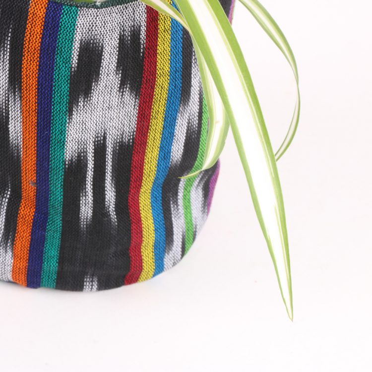 Tall green cotton planter bag | Gallery 2 | TradeAid