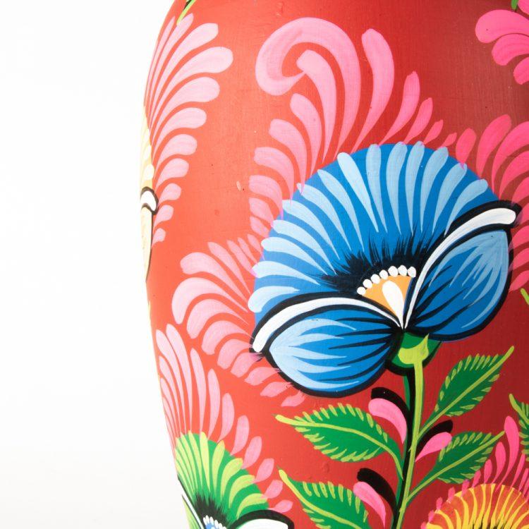 Floral nakshi kantha vase | Gallery 2 | TradeAid