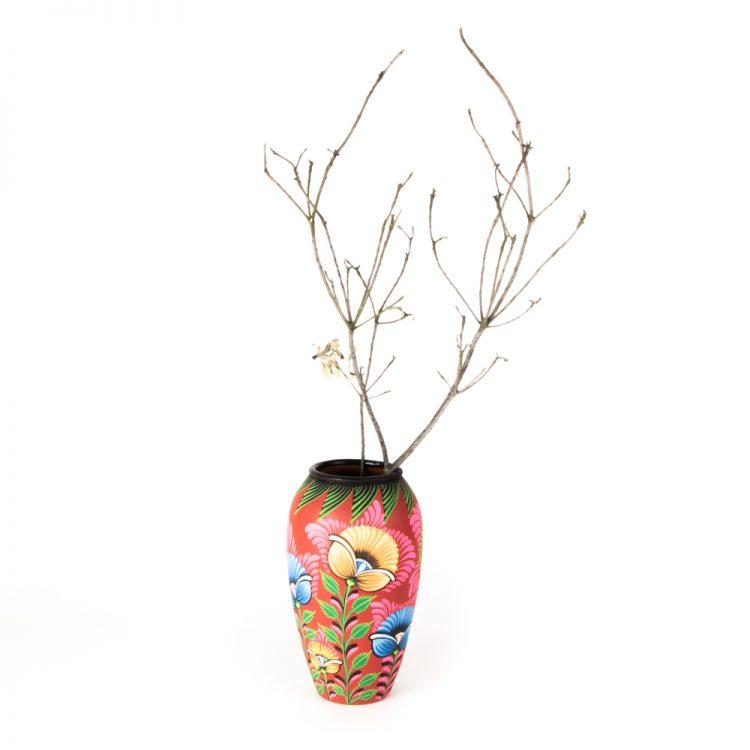 Floral nakshi kantha vase | Gallery 1 | TradeAid