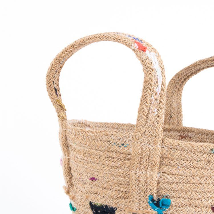 Jute recycled sari bowl | Gallery 2 | TradeAid