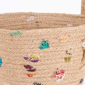 Jute recycled sari bowl | Gallery 1 | TradeAid
