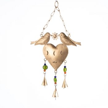 Bird and heart bell | TradeAid
