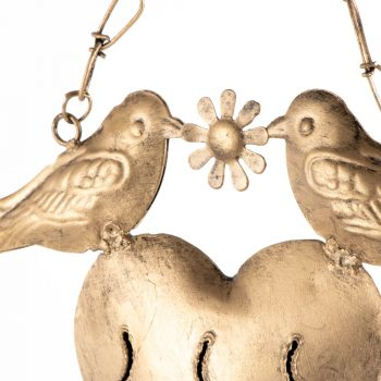 Bird and heart bell | Gallery 1 | TradeAid