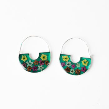 Floral hoop earrings | Gallery 1 | TradeAid