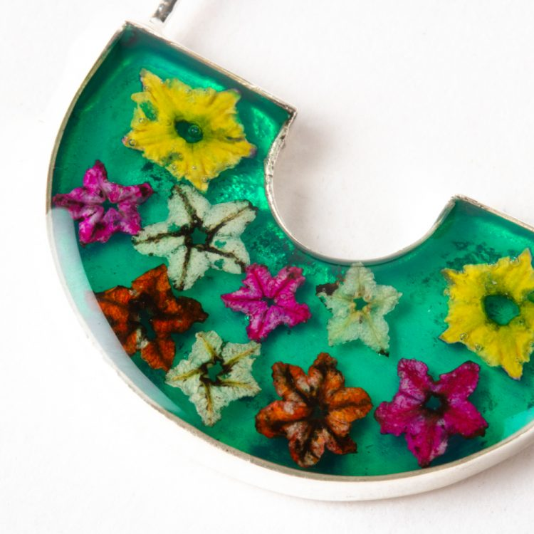 Floral hoop earrings | Gallery 2 | TradeAid