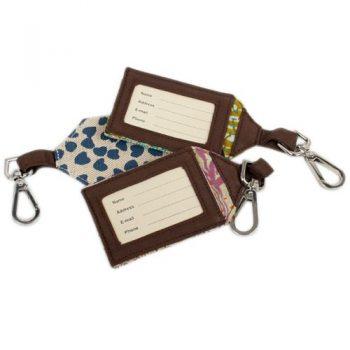 Jute fabric luggage tag | TradeAid