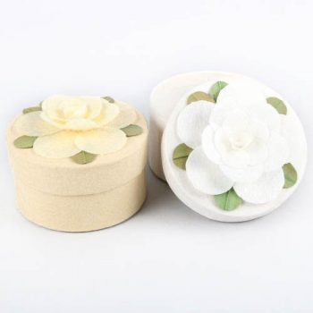 Round floral gift box | TradeAid