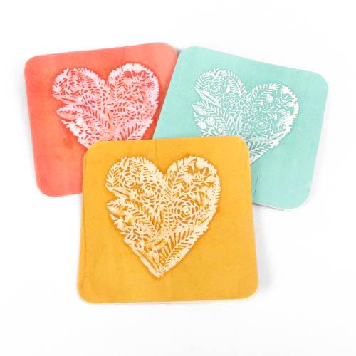 Heart design card | TradeAid