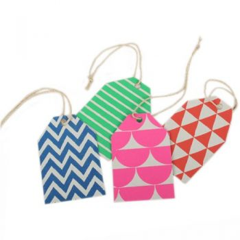 Geometric gift tag | TradeAid