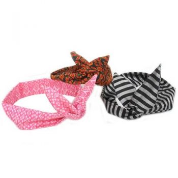 Silk bow hairband | TradeAid