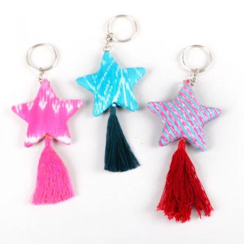 Silk star keyring | TradeAid