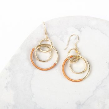 Metal hoop earrings | TradeAid