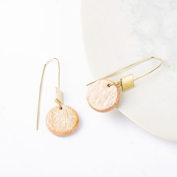 Wooden bead earrings | TradeAid
