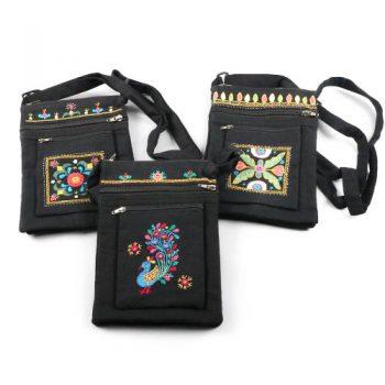 Embroidered shoulder bag | TradeAid