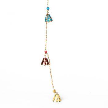 Meena work hanging bells | Gallery 1 | TradeAid