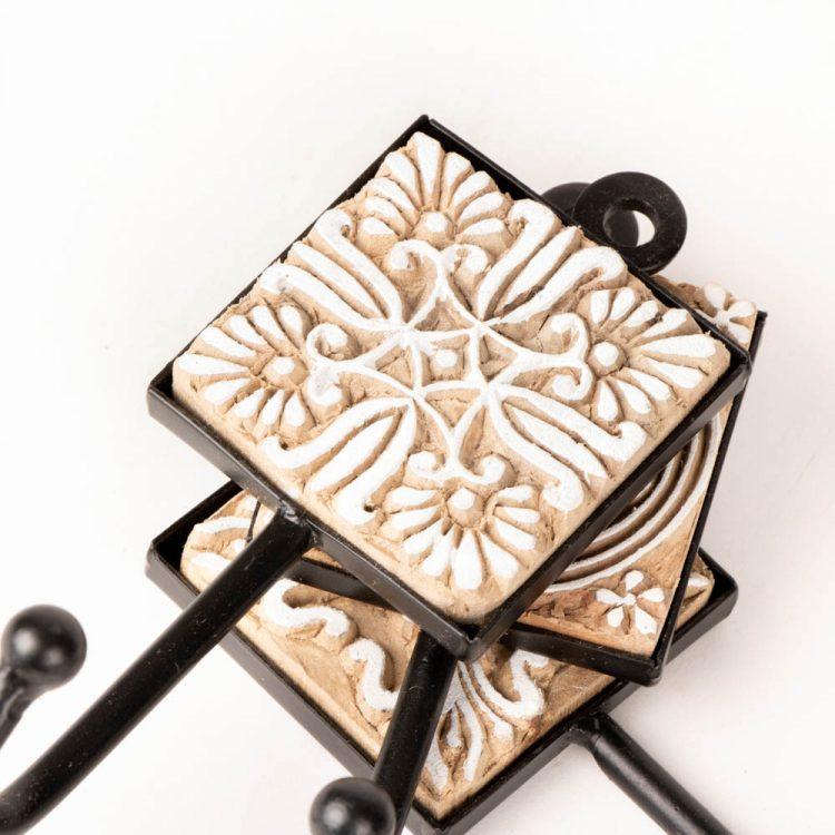 Wooden block coat hook | Gallery 1 | TradeAid