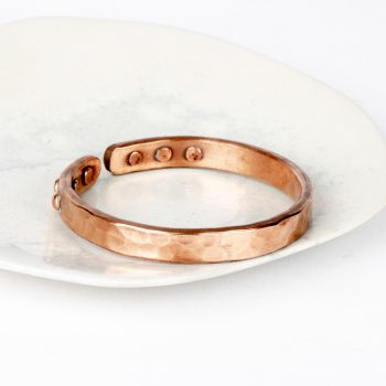 Copper cuff riveted | TradeAid