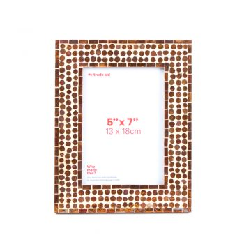 Copper glass photo frame | TradeAid