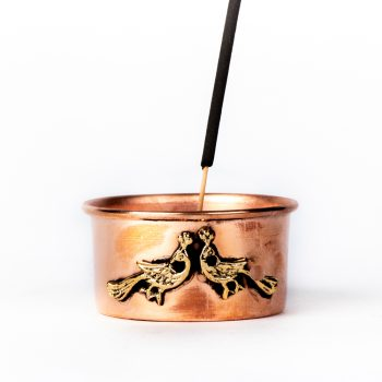 Copper bowl incense holder | TradeAid