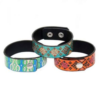 Leather friendship band.assorted designs | TradeAid