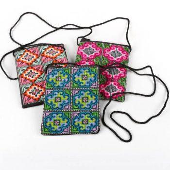 Hmong embroidered shoulder bag | TradeAid
