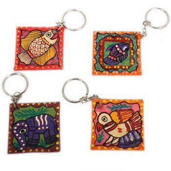 Mithila key ring | TradeAid