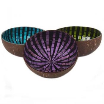 Mosaic coconut bowl | TradeAid