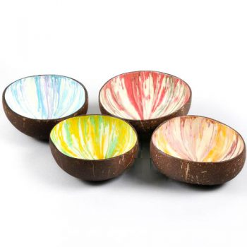 Marbled coconut bowl | TradeAid