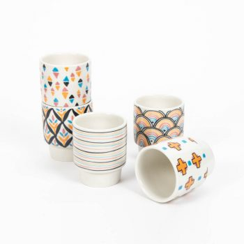 Origami tea cups | TradeAid