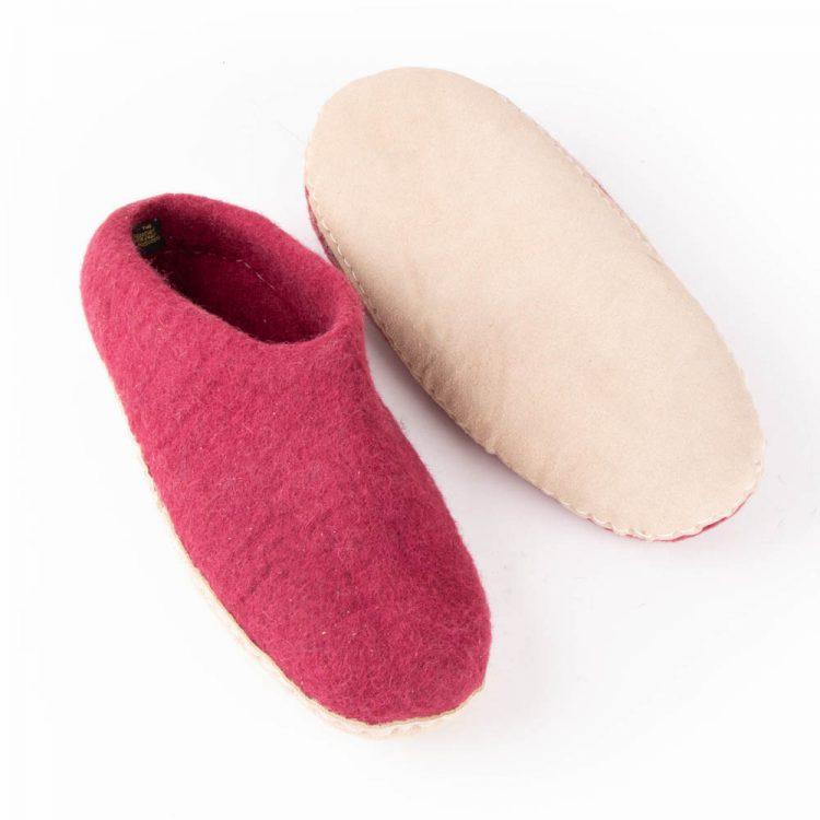 Wine felt slipper (39) | Gallery 1 | TradeAid